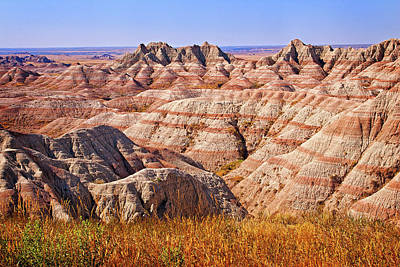 Photograph - Badlands by Mary Jo Allen