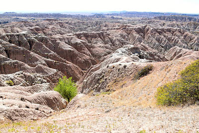 Photograph - Badlands National Park - 2 by Kathy M Krause