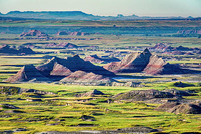 Photograph - Badlands National Park by Andy Crawford