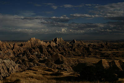 Badlands National Park Art Print