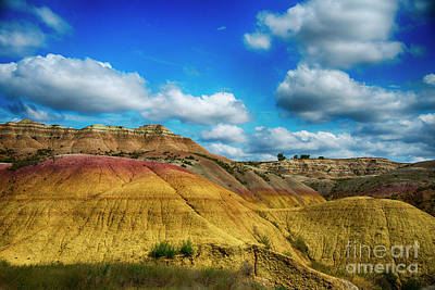 Badlands National Park Art Print by Jennifer Stackpole