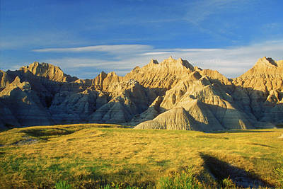 Photograph - Badlands National Park by John Burk