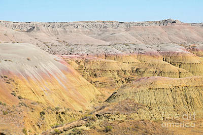 Photograph - Badlands National Park by Kathy M Krause