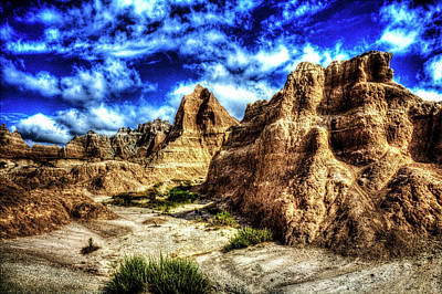 Photograph - Badlands National Park No. 22 by Roger Passman