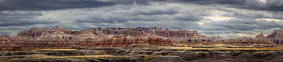Photograph - Badlands National Park by Ray Van Gundy
