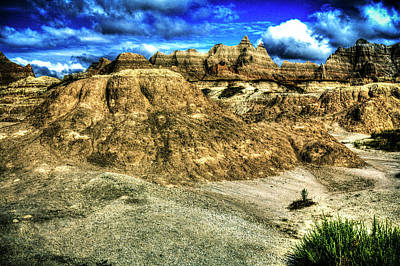 Photograph - Badlands National Park View No 02 by Roger Passman