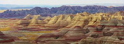 Photograph - Badlands Scenic View by Bruce Bley