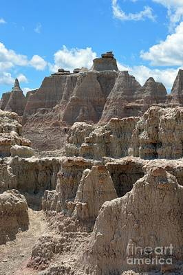 Photograph - Badlands Sd #145 by Chalet Roome-Rigdon