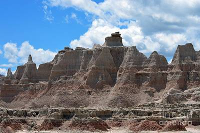 Photograph - Badlands Sd #146 by Chalet Roome-Rigdon