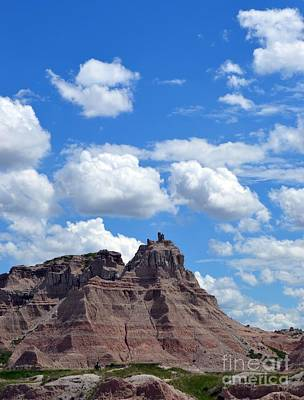 Photograph - Badlands Sd #214 by Chalet Roome-Rigdon