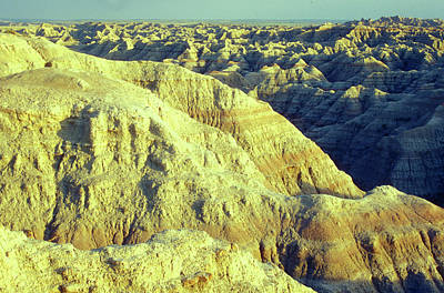 Photograph - Badlands South Dakota by John Burk