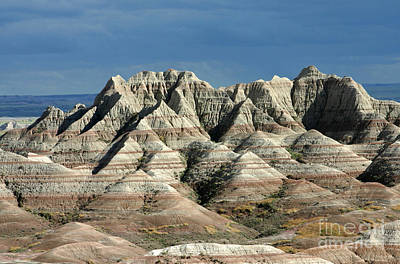Photograph - Badlands, South Dakota by Larry Miller