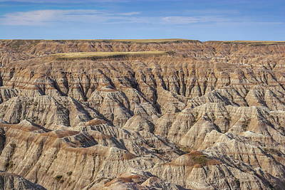 Photograph - Badlands Tables by Chuck De La Rosa