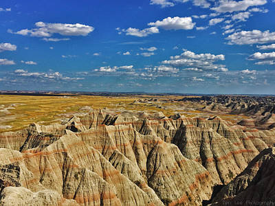 Photograph - Badlands To Plains by Teri Ridlon