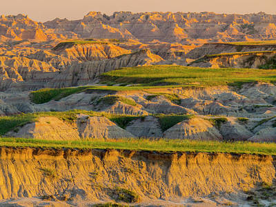 Photograph - Badlands Vista Sunrise by Patti Deters