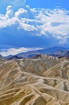 Photograph - Badlands Zabriskie Point  by Kyle Hanson