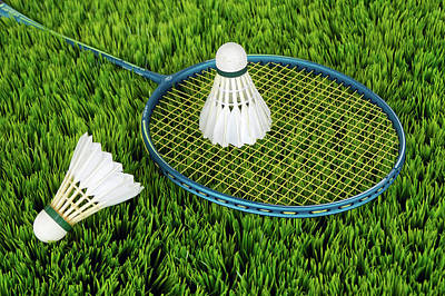 Photograph - Badminton  by Annca