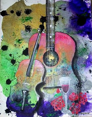Painting - Badmusic by Robert Francis