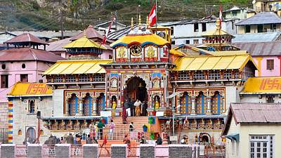 Photograph - Badrinath Temple India by Kim Bemis