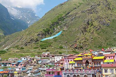 Photograph - Badrinath Temple, Uttarakhand, India by Nila Newsom