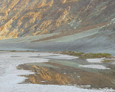 Death Valley Photograph - Badwater Abstract by Joseph Smith