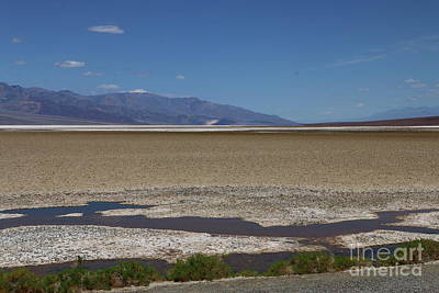 Photograph - Badwater Basin - Death Valley by Christiane Schulze Art And Photography