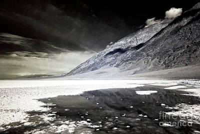 Photograph - Badwater Basin Infrared by John Rizzuto