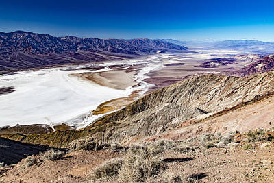 Photograph - Badwater Basin by Jim Moss