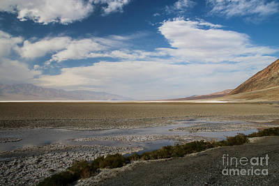 Photograph - Badwater Basin by Suzanne Luft