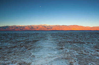 Art Print featuring the photograph Badwater  by Catherine Lau