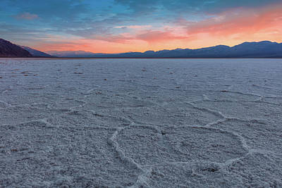 Photograph - Badwater by David Cote