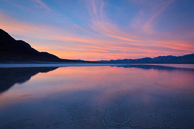 Photograph - Badwater Dawn 2011 by Ralph Nordstrom
