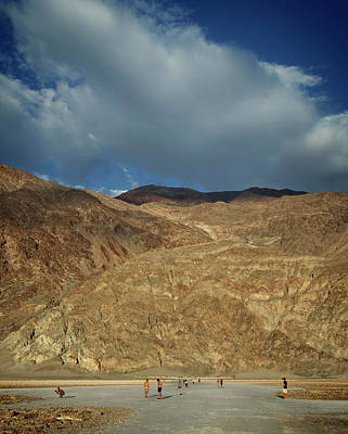 Photograph - Badwater Hike by Ricky Barnard