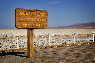 Photograph - Badwater II by Ricky Barnard