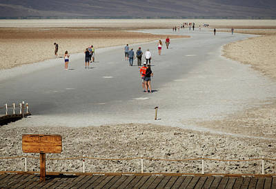 Photograph - Badwater IIi by Ricky Barnard