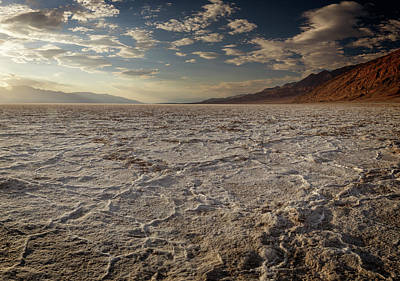 Photograph - Badwater Iv by Ricky Barnard