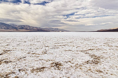 Photograph - Badwater by Jim Moss