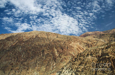 Photograph - Badwater Mountain by Suzanne Luft