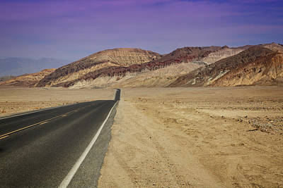 Photograph - Badwater Road by Ricky Barnard