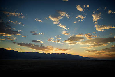 Photograph - Badwater Road Sunset II by Ricky Barnard