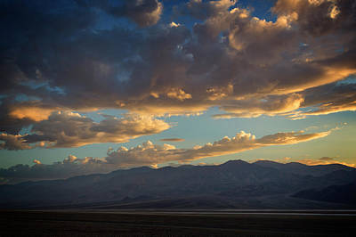 Photograph - Badwater Road Sunset by Ricky Barnard