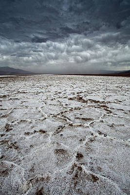 Photograph - Badwater Storm by Nolan Nitschke