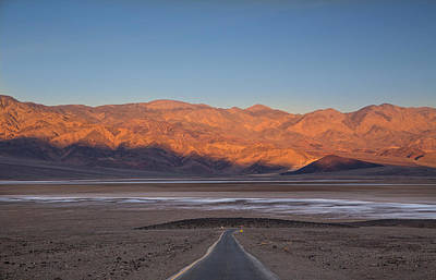 Photograph - Badwater Sunrise by Kunal Mehra