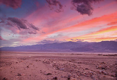 Photograph - Badwater Sunset by Kunal Mehra