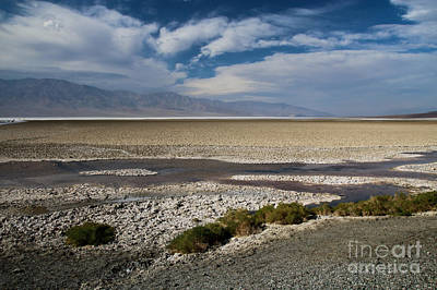 Photograph - Badwater by Suzanne Luft