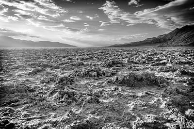 Photograph - Badwater Vii by Ricky Barnard