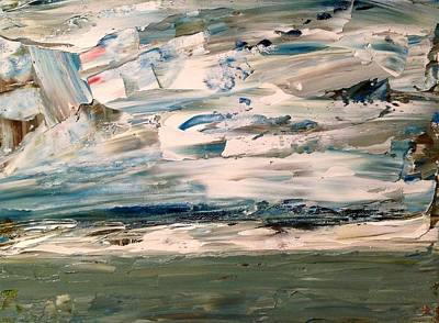 Painting - Baffin Abstract by Desmond Raymond