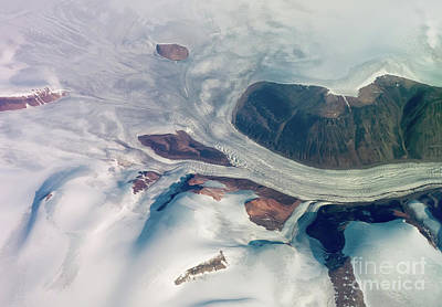 Photograph - Baffin Island From The Air by Rod Jones