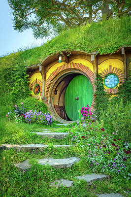 Lord Of The Rings Photograph - Bag End by Racheal Christian
