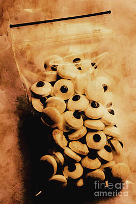 Creepy Photograph - Bag Of Eyes by Jorgo Photography - Wall Art Gallery